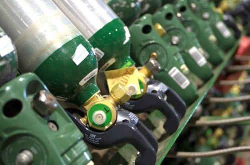 Medical Gas Cylinder Fill Rack