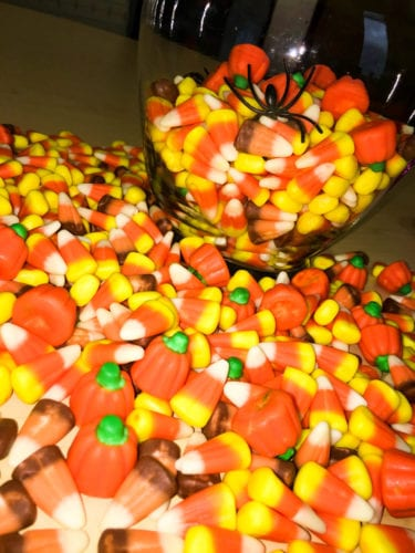 Candy Corn Guessing Game Set-Up