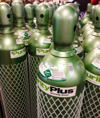 Purity Plus Specialty Gas Cylinders