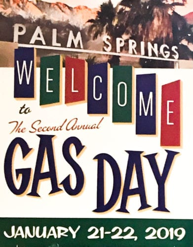 Gas Day Conference signage
