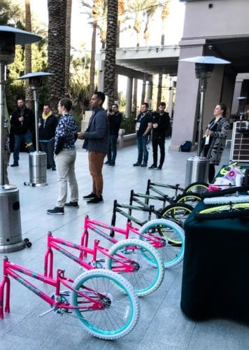 Build-A-Bike charity event