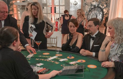 Noble Team at the Casino Tables