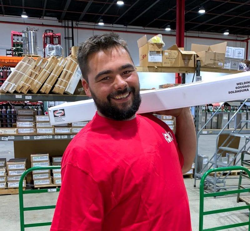 Joseph Mahoney, Shipping & Receiving Specialist